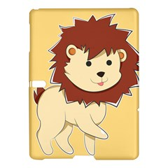 Happy Cartoon Baby Lion Samsung Galaxy Tab S (10 5 ) Hardshell Case  by Catifornia