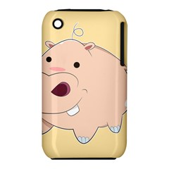 Happy Cartoon Baby Hippo Iphone 3s/3gs by Catifornia