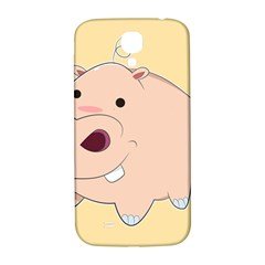 Happy Cartoon Baby Hippo Samsung Galaxy S4 I9500/i9505  Hardshell Back Case by Catifornia