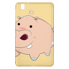 Happy Cartoon Baby Hippo Samsung Galaxy Tab Pro 8 4 Hardshell Case by Catifornia
