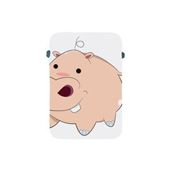 Happy Cartoon Baby Hippo Apple Ipad Mini Protective Soft Cases by Catifornia