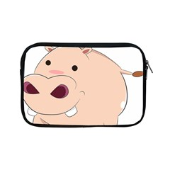 Happy Cartoon Baby Hippo Apple Ipad Mini Zipper Cases by Catifornia