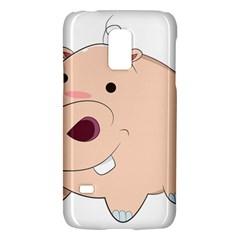 Happy Cartoon Baby Hippo Galaxy S5 Mini by Catifornia