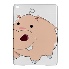 Happy Cartoon Baby Hippo Ipad Air 2 Hardshell Cases by Catifornia