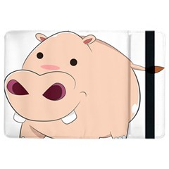 Happy Cartoon Baby Hippo Ipad Air 2 Flip by Catifornia