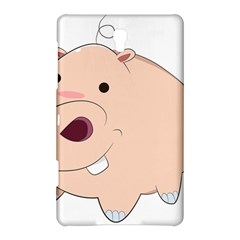 Happy Cartoon Baby Hippo Samsung Galaxy Tab S (8 4 ) Hardshell Case  by Catifornia