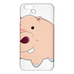 Happy Cartoon Baby Hippo Iphone 6 Plus/6s Plus Tpu Case by Catifornia