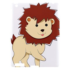 Happy Cartoon Baby Lion Apple Ipad 3/4 Hardshell Case by Catifornia