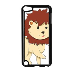 Happy Cartoon Baby Lion Apple Ipod Touch 5 Case (black) by Catifornia