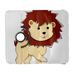 Happy Cartoon Baby Lion Galaxy S3 (flip/folio) by Catifornia