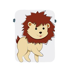 Happy Cartoon Baby Lion Apple Ipad 2/3/4 Protective Soft Cases by Catifornia