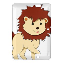 Happy Cartoon Baby Lion Kindle Fire Hdx 8 9  Hardshell Case by Catifornia