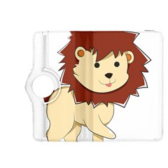 Happy Cartoon Baby Lion Kindle Fire Hdx 8 9  Flip 360 Case by Catifornia