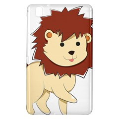 Happy Cartoon Baby Lion Samsung Galaxy Tab Pro 8 4 Hardshell Case by Catifornia