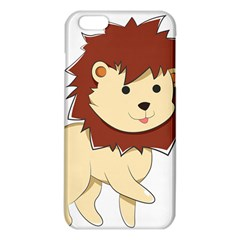 Happy Cartoon Baby Lion Iphone 6 Plus/6s Plus Tpu Case by Catifornia
