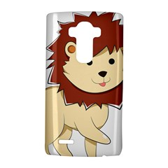 Happy Cartoon Baby Lion Lg G4 Hardshell Case by Catifornia