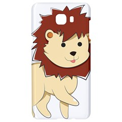 Happy Cartoon Baby Lion Samsung C9 Pro Hardshell Case  by Catifornia