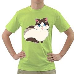 Ragdoll Cat For Life Green T Shirt by Catifornia