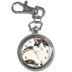 Ragdoll Cat For Life Key Chain Watches