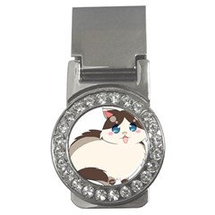 Ragdoll Cat For Life Money Clips (cz)  by Catifornia