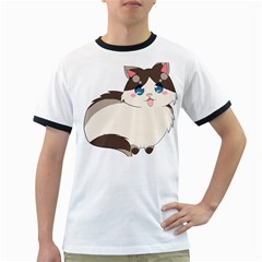 Ragdoll Cat For Life Ringer T Shirts by Catifornia