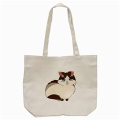 Ragdoll Cat For Life Tote Bag (cream) by Catifornia