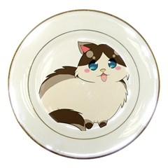 Ragdoll Cat For Life Porcelain Plates by Catifornia