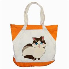 Ragdoll Cat For Life Accent Tote Bag by Catifornia