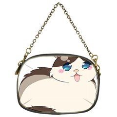 Ragdoll Cat For Life Chain Purses (one Side)