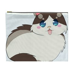 Ragdoll Cat For Life Cosmetic Bag (xl) by Catifornia