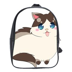 Ragdoll Cat For Life School Bags(large)  by Catifornia