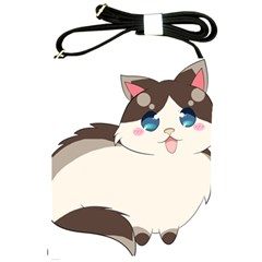 Ragdoll Cat For Life Shoulder Sling Bags by Catifornia