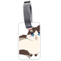Ragdoll Cat For Life Luggage Tags (one Side)  by Catifornia