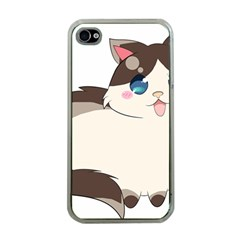 Ragdoll Cat For Life Apple Iphone 4 Case (clear) by Catifornia