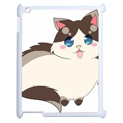 Ragdoll Cat For Life Apple Ipad 2 Case (white) by Catifornia