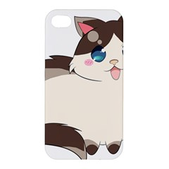 Ragdoll Cat For Life Apple Iphone 4/4s Hardshell Case by Catifornia