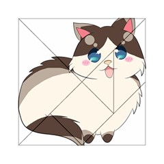 Ragdoll Cat For Life Acrylic Tangram Puzzle (6  X 6 ) by Catifornia