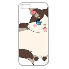 Ragdoll Cat For Life Apple Seamless Iphone 5 Case (clear) by Catifornia