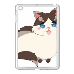Ragdoll Cat For Life Apple Ipad Mini Case (white) by Catifornia