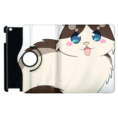 Ragdoll Cat For Life Apple Ipad 3/4 Flip 360 Case by Catifornia