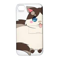 Ragdoll Cat For Life Apple Iphone 4/4s Hardshell Case With Stand by Catifornia