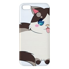 Ragdoll Cat For Life Apple Iphone 5 Premium Hardshell Case by Catifornia