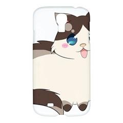 Ragdoll Cat For Life Samsung Galaxy S4 I9500/i9505 Hardshell Case by Catifornia