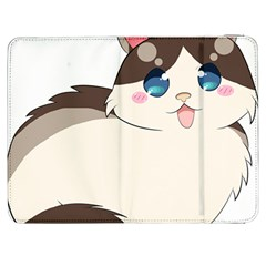 Ragdoll Cat For Life Samsung Galaxy Tab 7  P1000 Flip Case by Catifornia