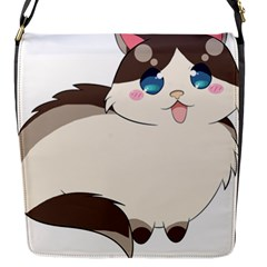 Ragdoll Cat For Life Flap Messenger Bag (s) by Catifornia