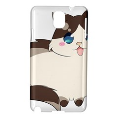 Ragdoll Cat For Life Samsung Galaxy Note 3 N9005 Hardshell Case by Catifornia