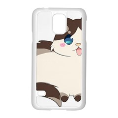 Ragdoll Cat For Life Samsung Galaxy S5 Case (white) by Catifornia