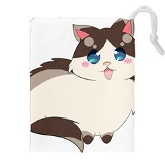 Ragdoll Cat For Life Drawstring Pouches (xxl) by Catifornia