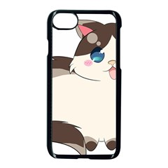 Ragdoll Cat For Life Apple Iphone 7 Seamless Case (black) by Catifornia