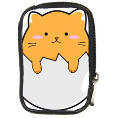 Yellow Cat Egg Compact Camera Cases by Catifornia